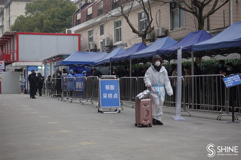 Hospitals all set for Spring Festival nucleic acid tests rush