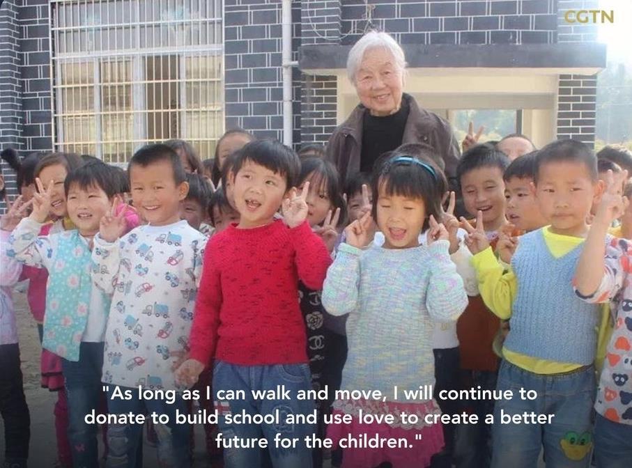 Nonagenarian sells her property to build school for children in rural area