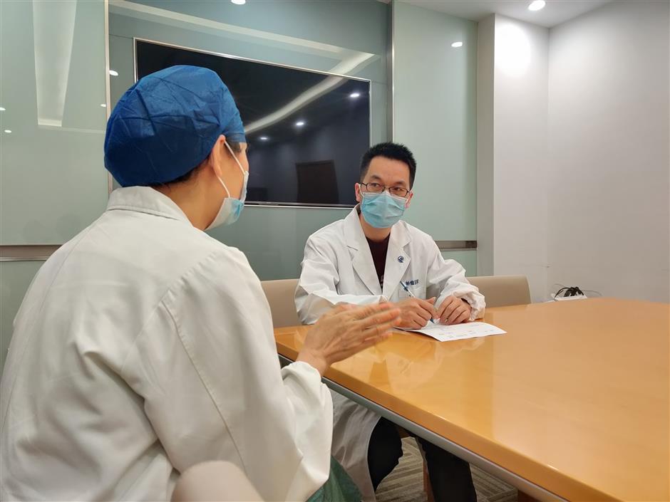 Mental health advice atquarantined hospital