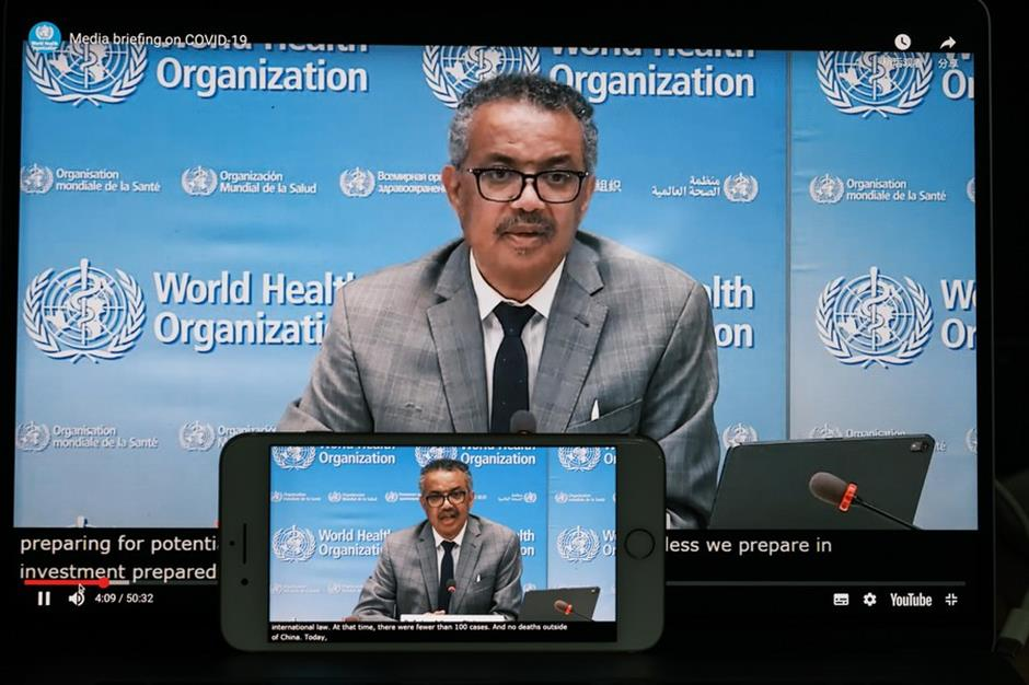 100 million COVID-19 cases worldwide expected this week: WHO chief