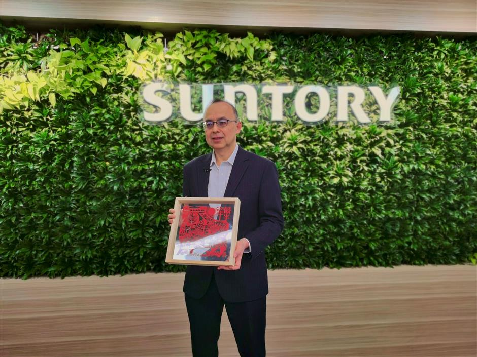 China now Suntorys most important market
