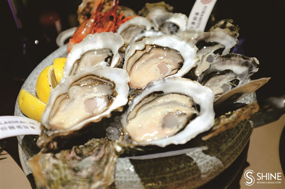 Go where the world really is, your oyster