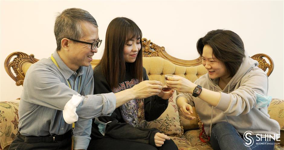 Spring Festival:  a chat about  family, food and  holiday hang-ups
