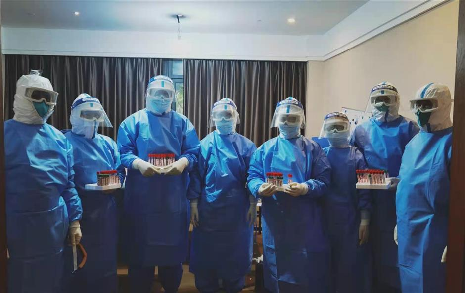 Medical staff continue to serve the public