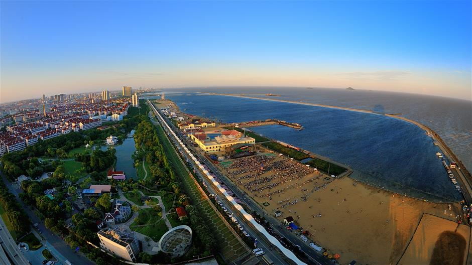 Jinshan reclaims land for resort project