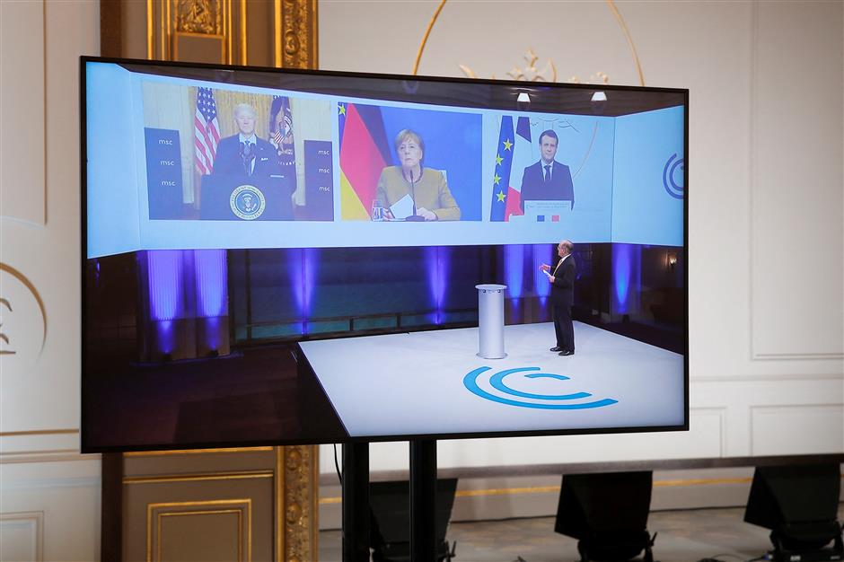 Merkel calls for strengthening multilateralism at Munich Security Conference
