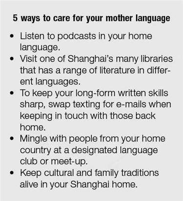 Mother tongue: Why your language matters