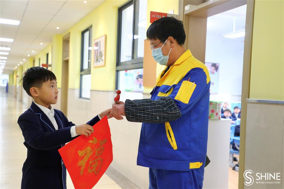 Students return to school after long winter vacation