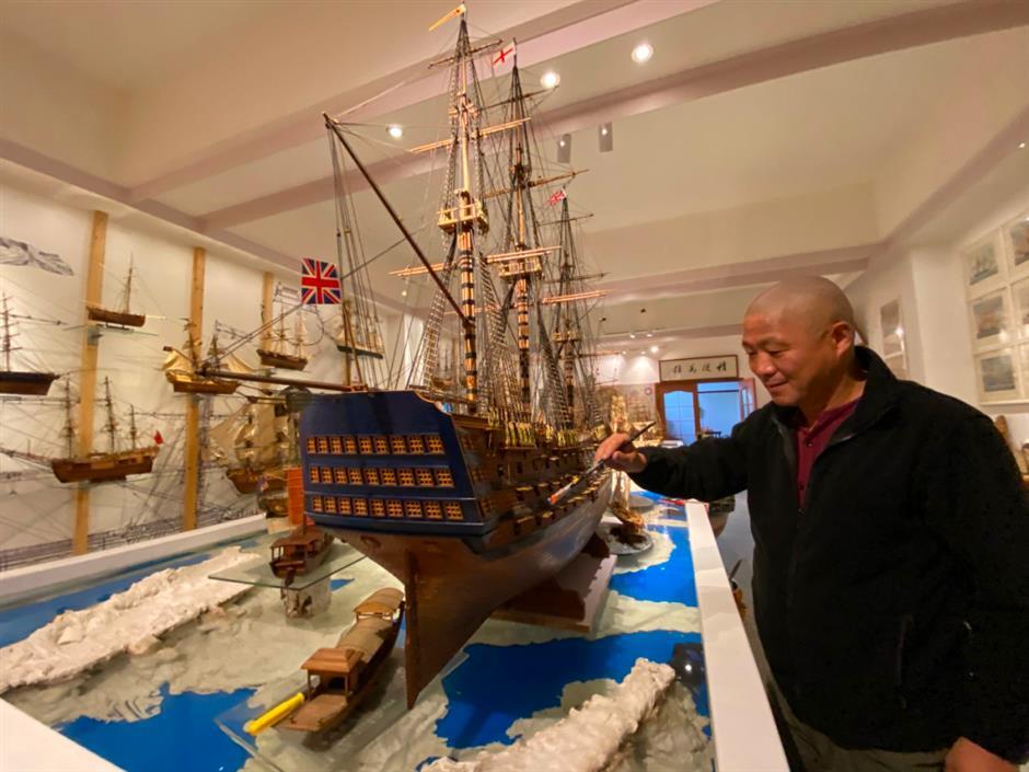 Plain sailing for Tongs miniature armada