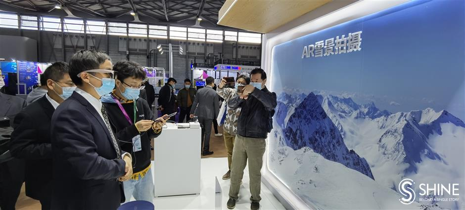 Gadgets with 5G and AI shine at MWC event