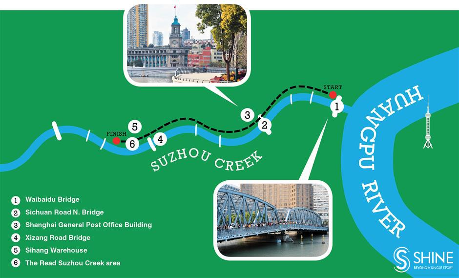 Come with me for a stroll along my favorite part of ShanghaisSuzhou Creek