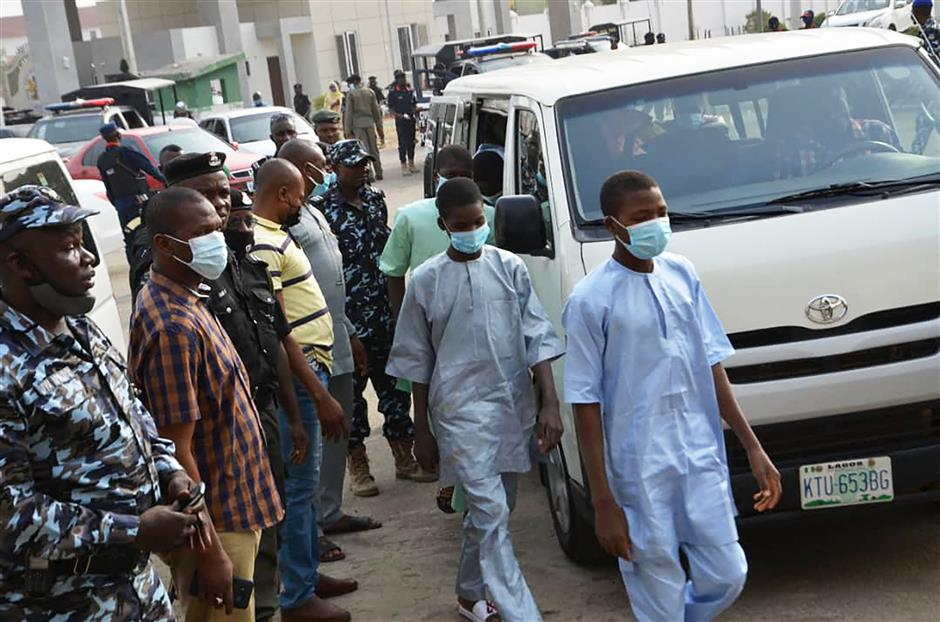 Nigerian kidnappers free schoolboys after 10 days