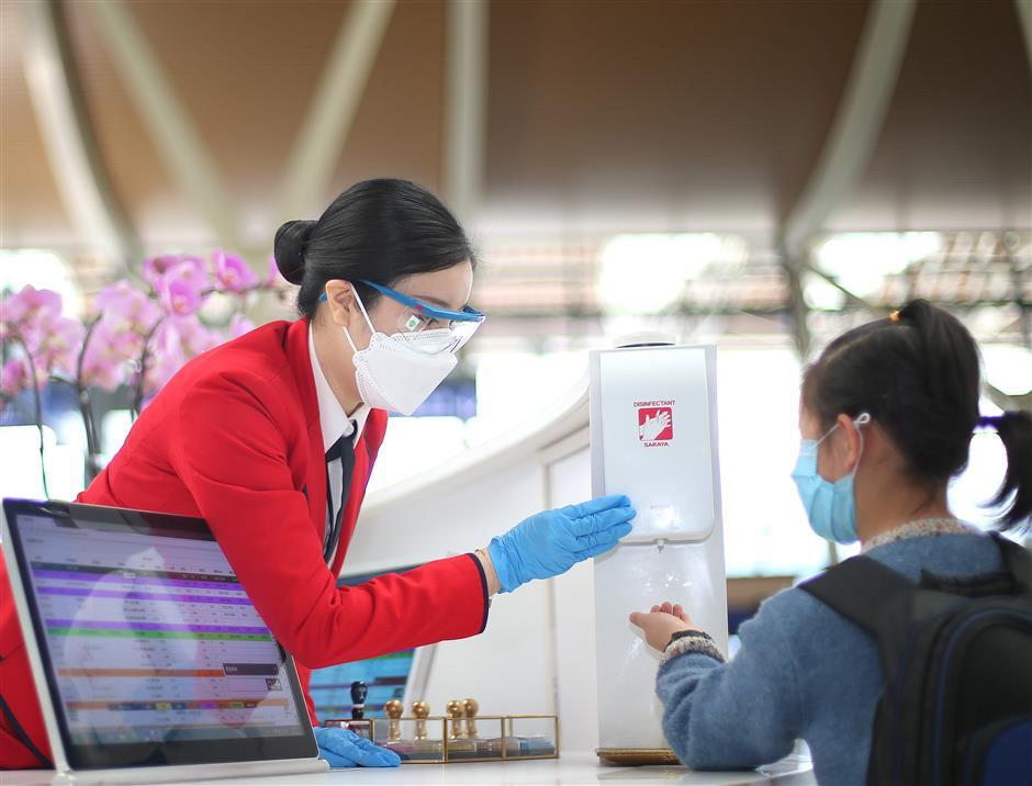 Pudong airport top in passenger satisfaction