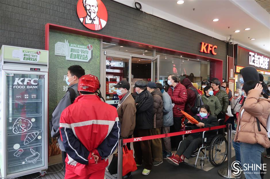 Better management ensures the smooth running of the KFC food bank