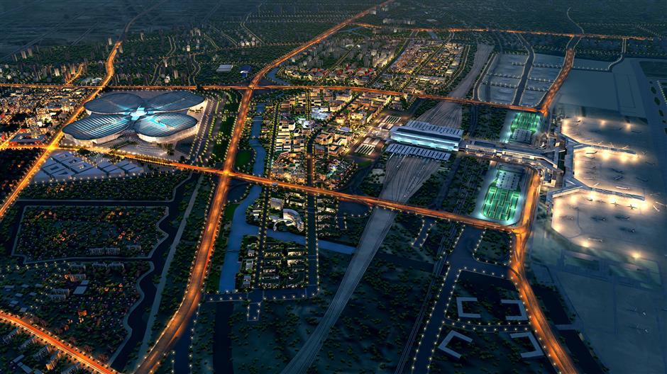 Hongqiao International Hub opening up for major development