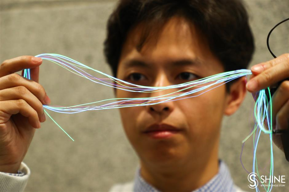 FudanUniversity team develops smart textile
