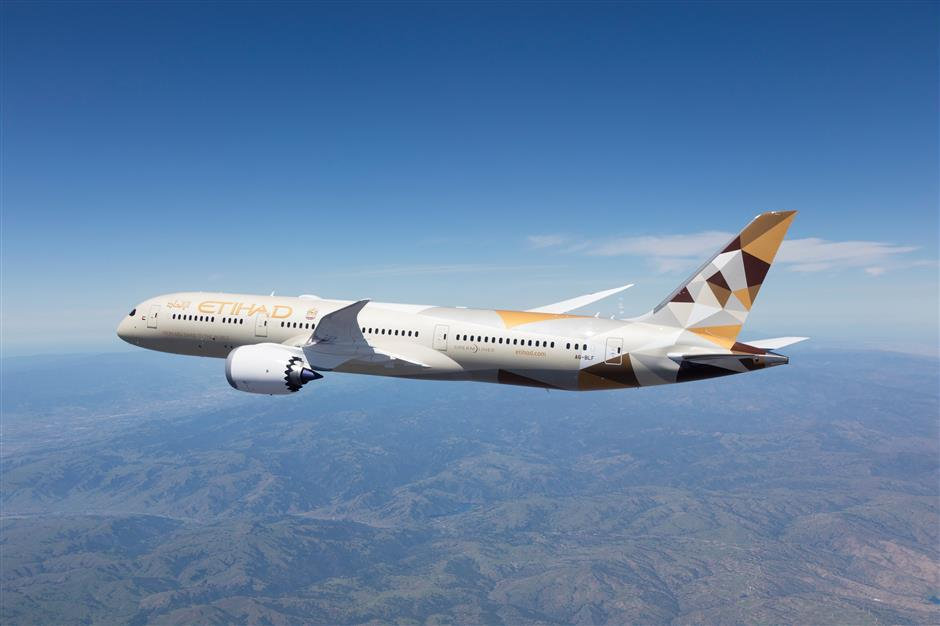 Flight from Abu Dhabi to Shanghai suspended