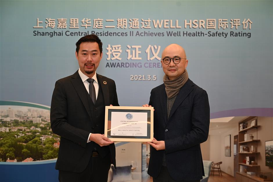 Health and safety honor for city apartments