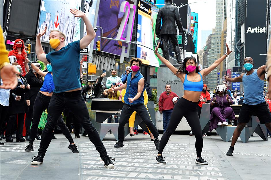 We will be back! Performers vow Broadway will reopen