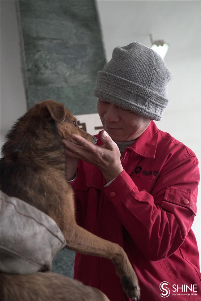 Benevolent monk who is dogs best friend