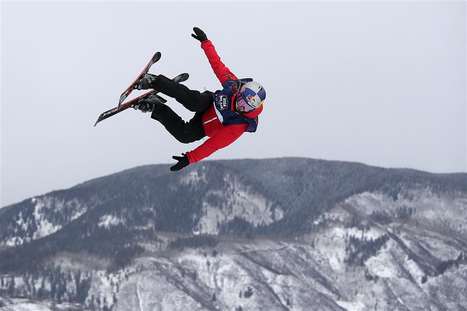 Gu clinches big air bronze to close world championships with 3 medals