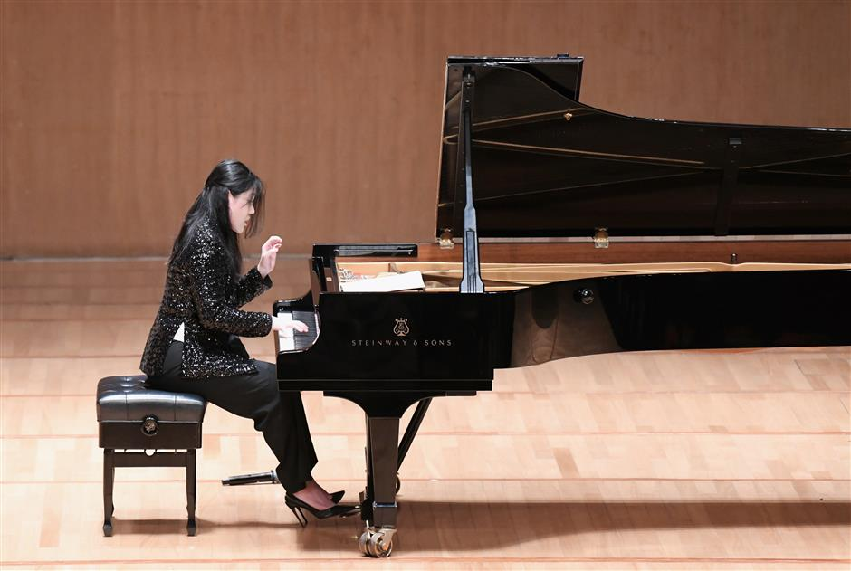 Pianist relishes time to play for home audiences