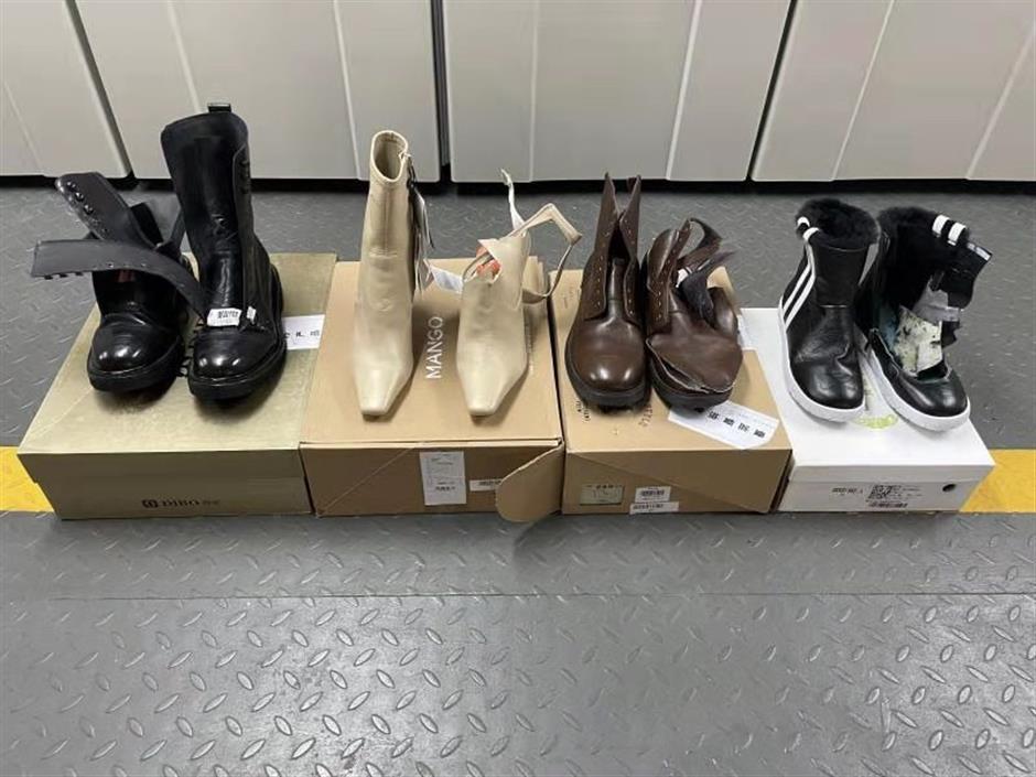 Investigation finds substandard shoes on sale