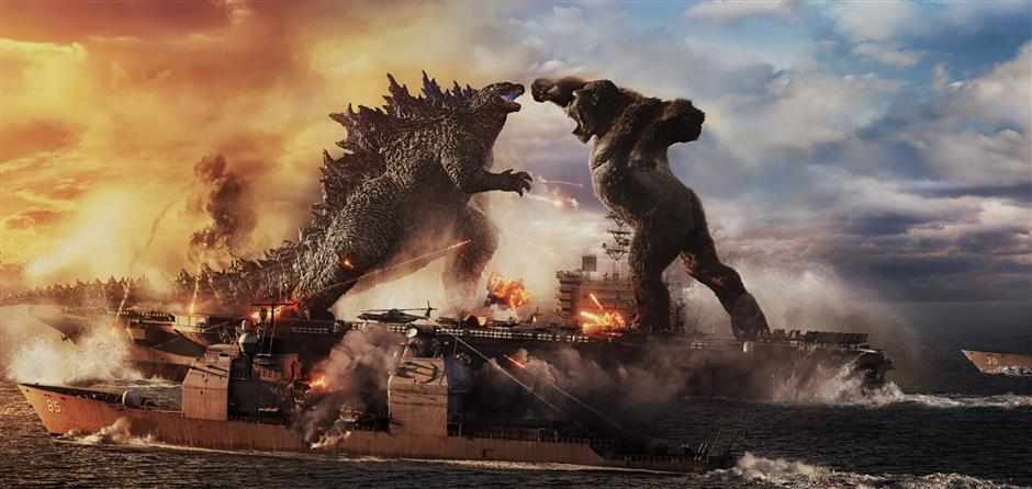 Godzilla and Kong ready to rumble in cinemas across China
