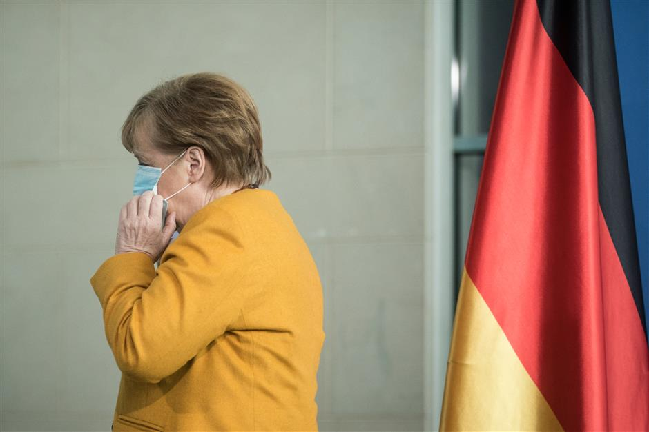 Merkel hit as Easter shutdown rules eased