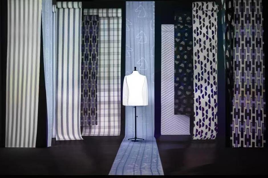 Hermèsluxury brand exhibition goes off camera