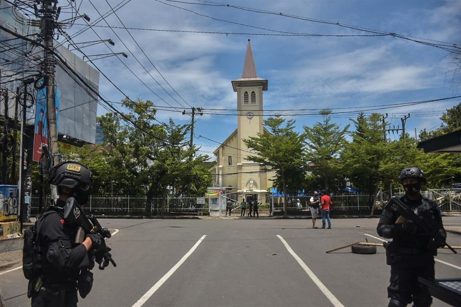 Indonesia condemns bombing at South Sulawesis church