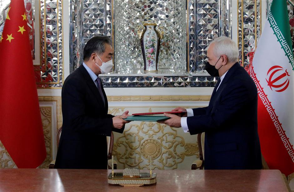 China, Iran sign 25-year cooperation agreement