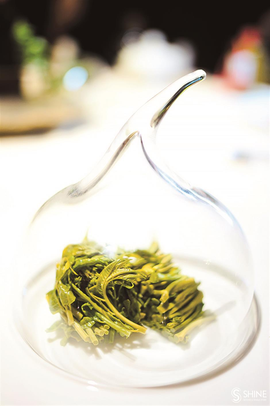 Qian cuisine elevated to gastronomic high