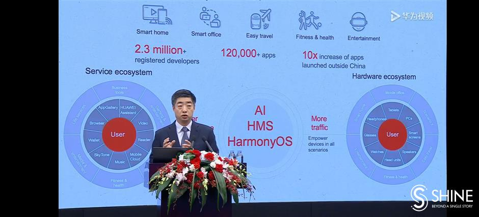 Huaweireports growth in revenue for 2020