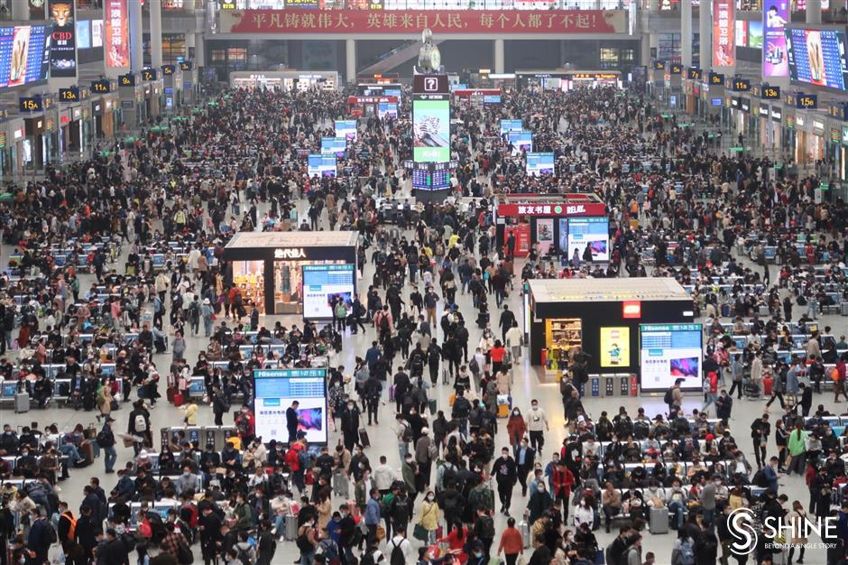 China expects nearly 50m railway trips during upcoming holiday travel rush