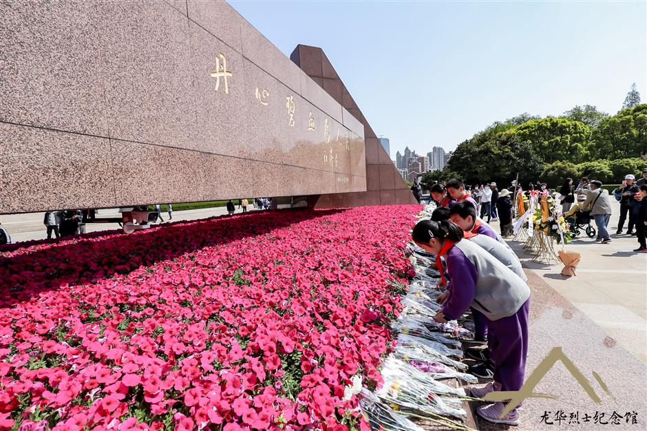City pays tribute to revolutionary heroes