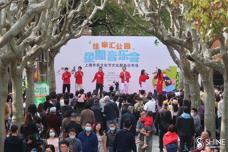 Festival seni Shanghai mencakup lima kota baru