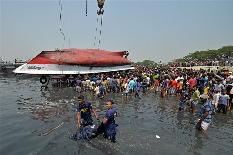 Search for survivors called off as Bangladesh ferry toll rises to 28