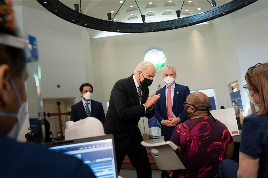 Biden announces all US adults eligible for COVID-19 vaccine by April 19