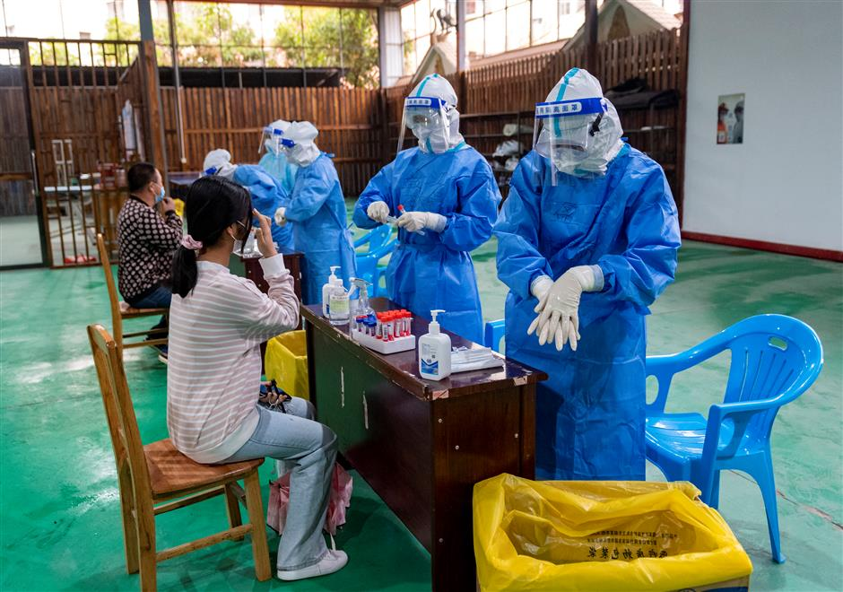 Chinas Yunnan reports 2 new local COVID-19 cases