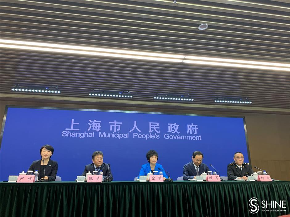 Shanghai eyes global trade hub status in latest five-year plan