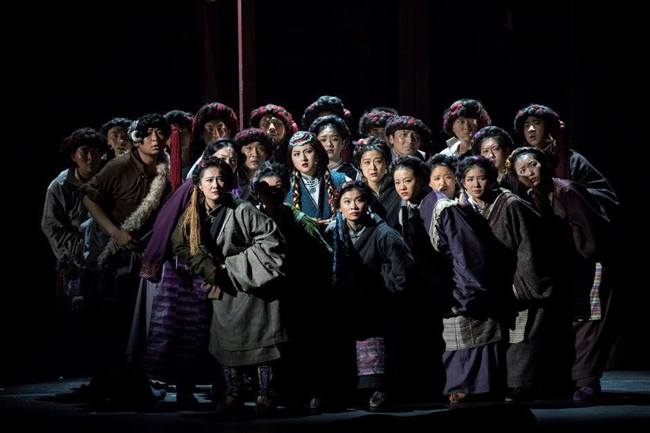 Performance brings alive flavor of Tibetan classic