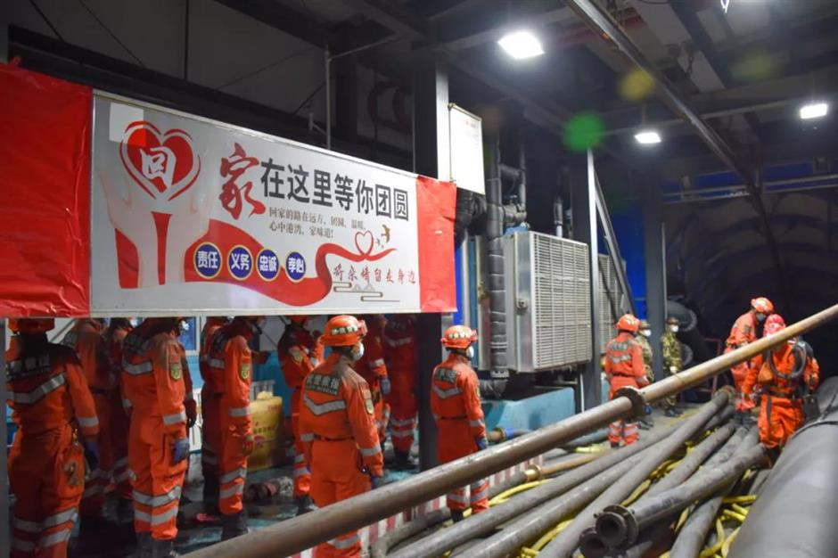 Rescue underway after coal mine floods in Xinjiang