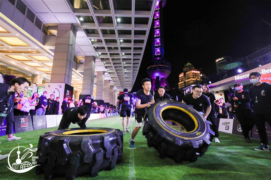 Lujiazui Financial District Decathlon crosses the finish line