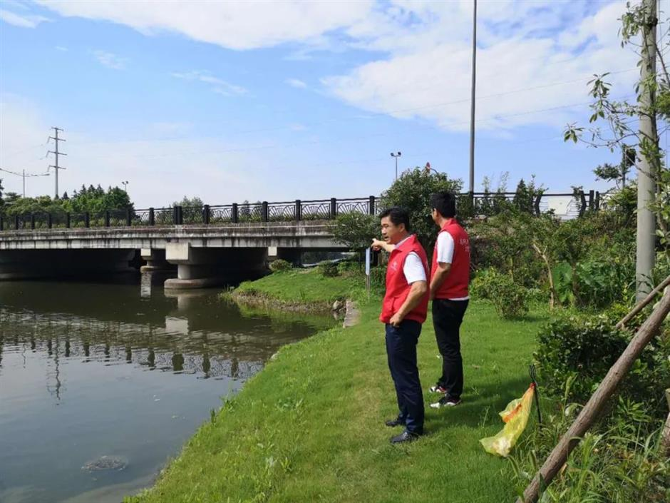 Creek administers improving water quality