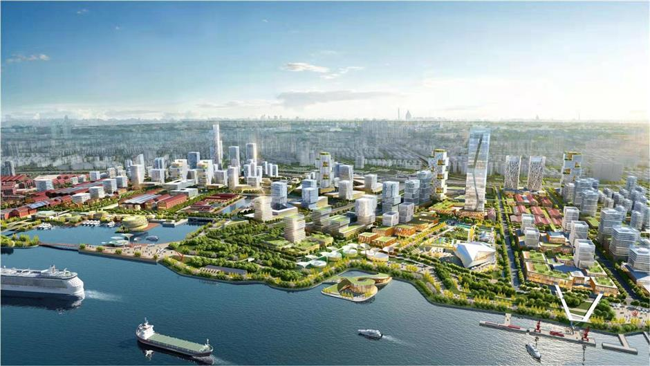Blueprint for digital transformation pilot zone in Yangpu