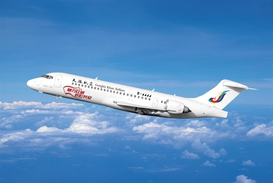 Chinese jet flight to explore Party history