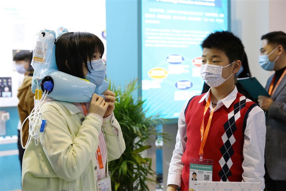 Fair shows work of citys young inventors