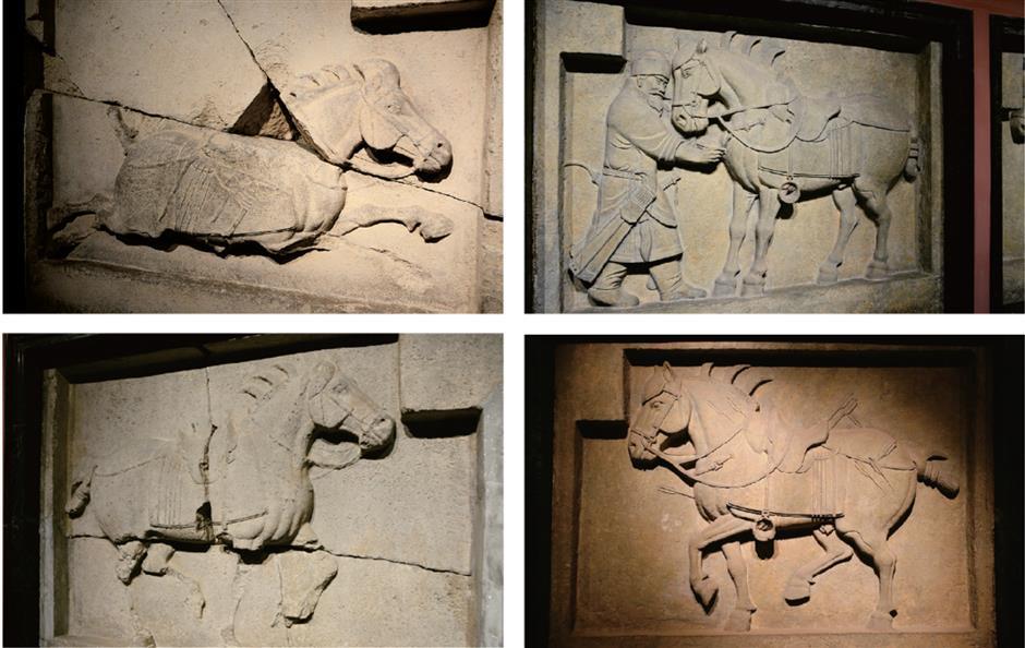 Mighty war horses and stolen sculptures
