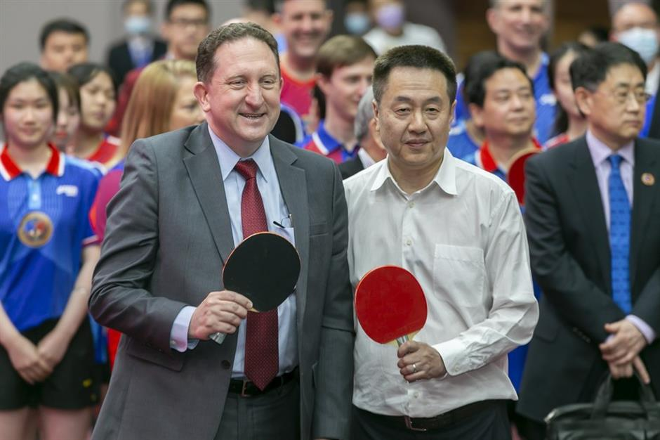 Shanghai a pioneer in China-US trade following ping-pong diplomacy